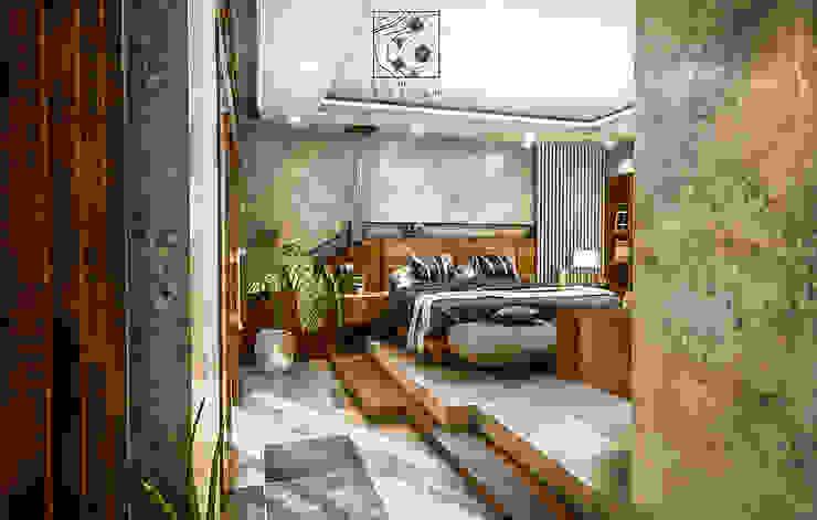 Vam Master Bedroom Oleh Permanas Design Tropis