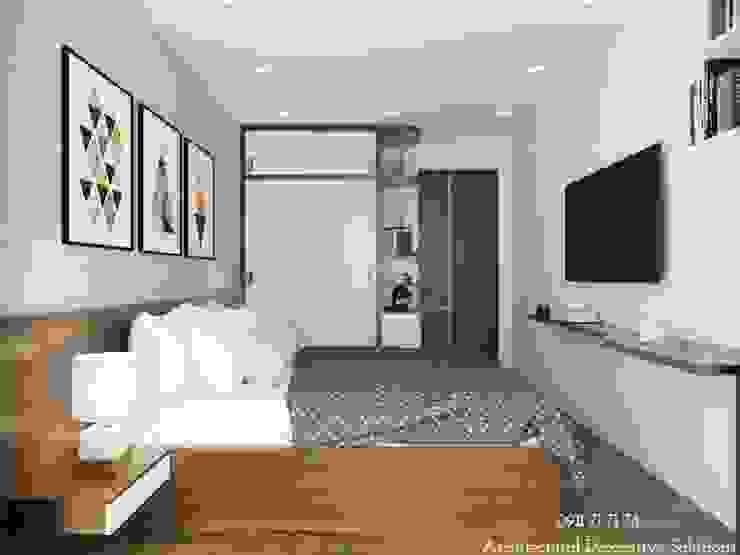 Nội Thất Phòng Ngủ Master: hiện đại  by Deco Việt, Hiện đại