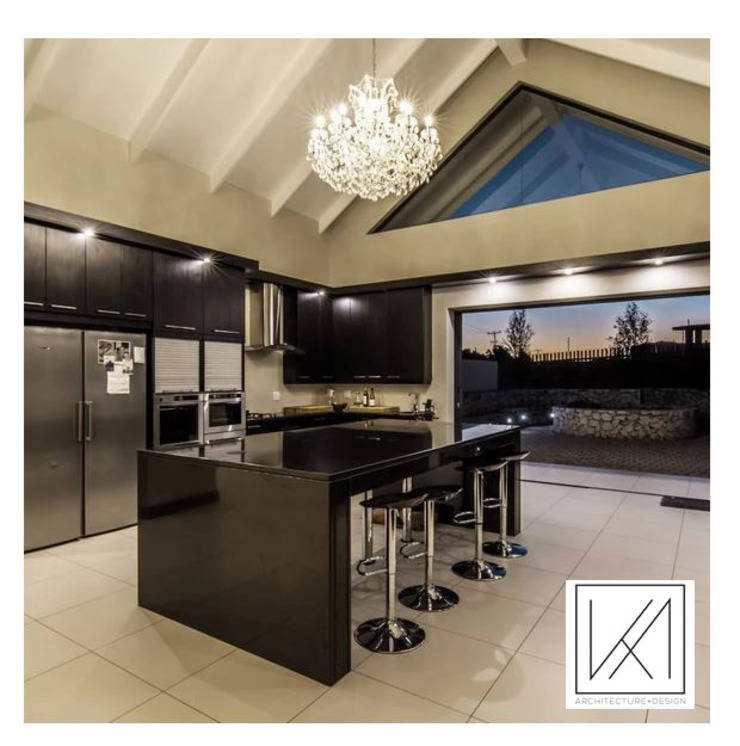 House U.M Modern kitchen by KA.Architecture+Design Modern