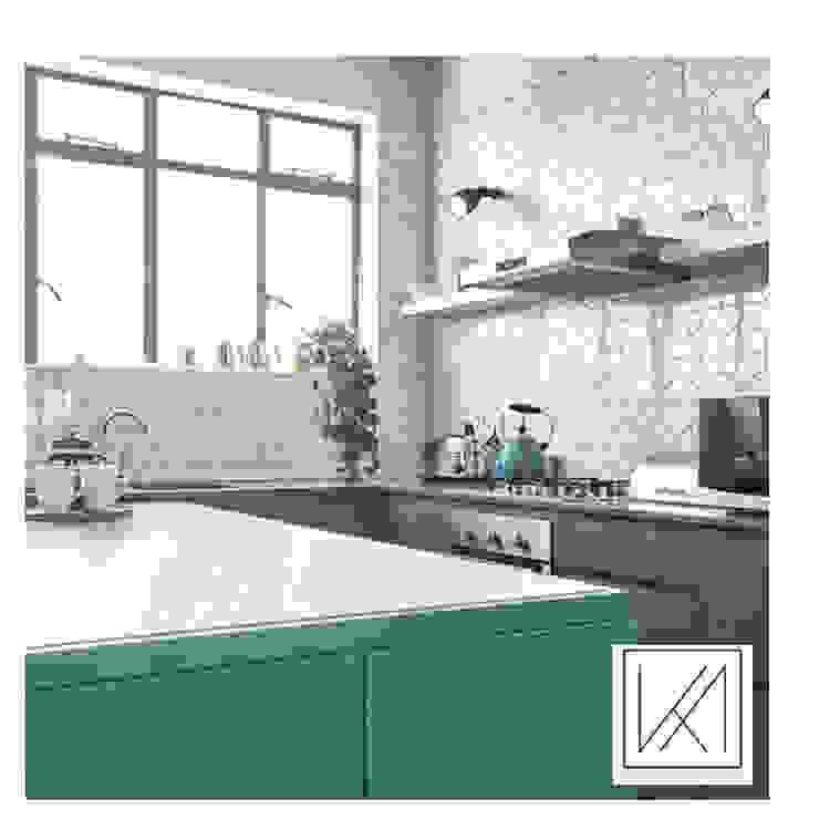 Apartment Killarney Modern kitchen by KA.Architecture+Design Modern