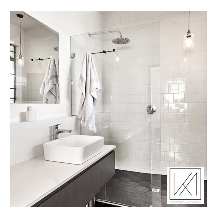 Apartment Killarney Modern bathroom by KA.Architecture+Design Modern