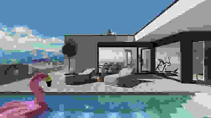 Einfamilienhaus (Projekt 259) Karl Kaffenberger Architektur | Einrichtung Moderne Häuser Weiß