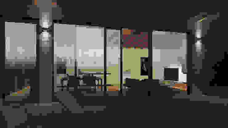 Mehrfamilienhaus (Projekt 160) Karl Kaffenberger Architektur | Einrichtung Moderne Wohnzimmer Holz