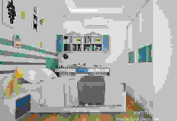Nội thất phòng bé Deco Việt Phòng trẻ em phong cách hiện đại