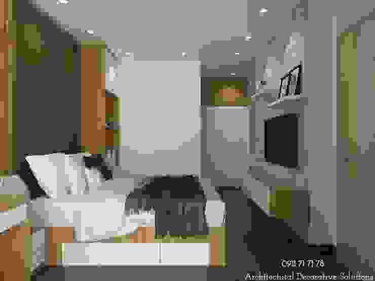 Nội thất phòng ngủ Phòng ngủ phong cách hiện đại bởi Deco Việt Hiện đại