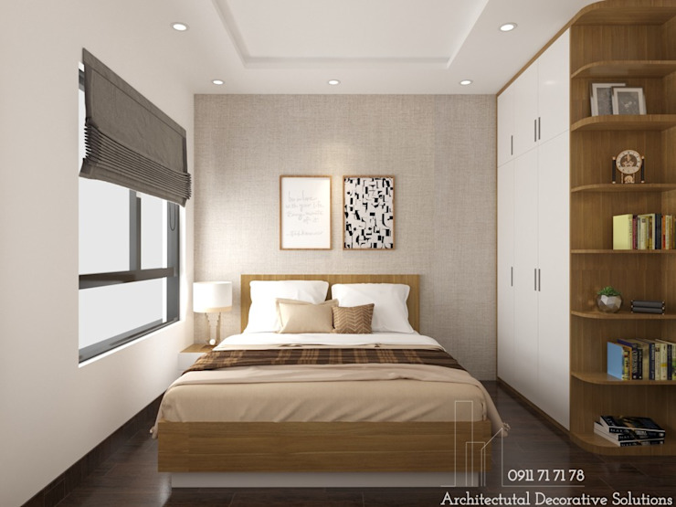 Nội thất phòng ngủ Deco Việt Phòng ngủ phong cách hiện đại