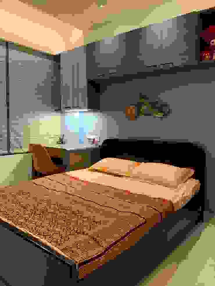 Asian style bedroom by Mallika Seth Asian