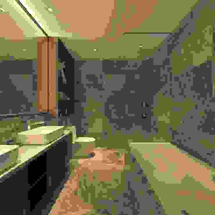 ARIA LUXURY RESIDENCE BOLDNDOT SDN BHD Modern bathroom