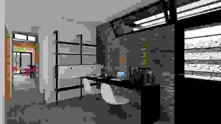 ARBOL Arquitectos Rustic style study/office