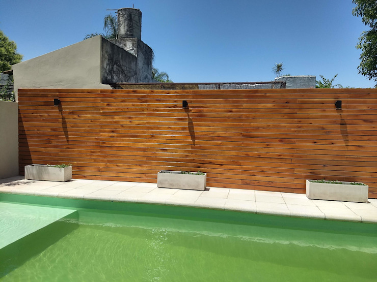 ECOS INGENIERIA Garden Pool Wood Wood effect