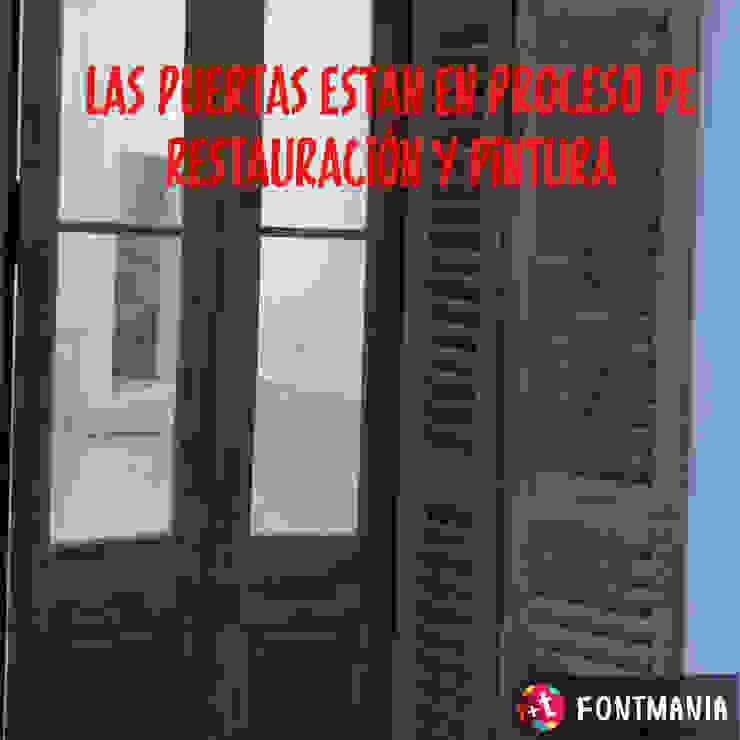 ECOS INGENIERIA Porte in legno Legno Effetto legno