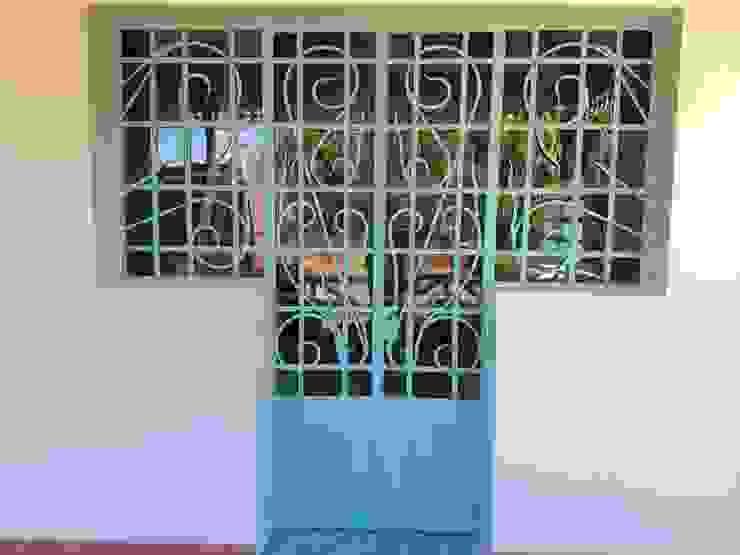 ECOS INGENIERIA Porte di vetro Metallo Verde