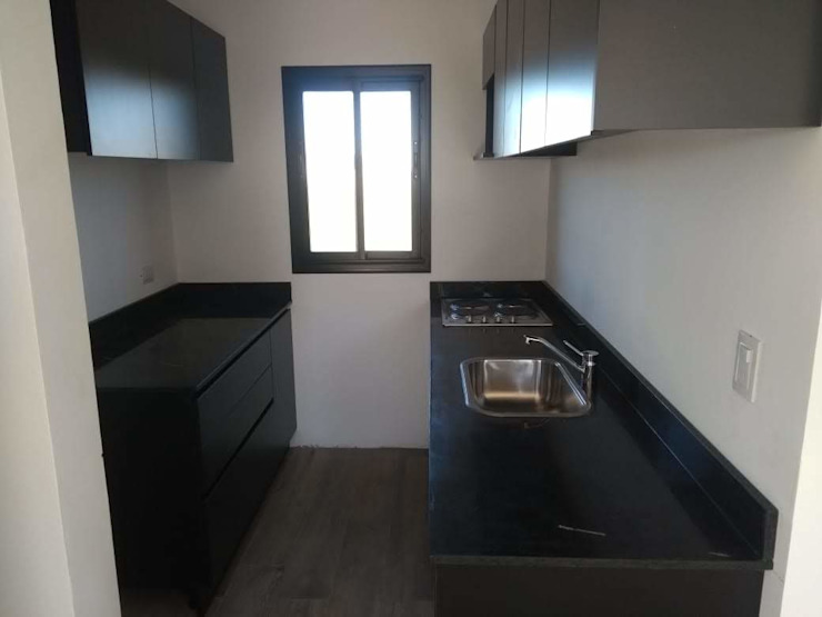 ECOS INGENIERIA Built-in kitchens Black