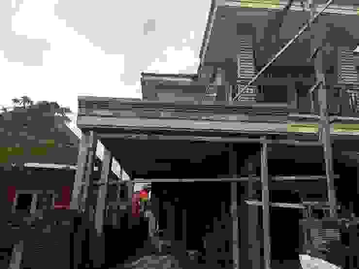 Renovasi Rumah di Perumahan Wenerejo Kantor & Toko Minimalis Oleh Priglotech Minimalis