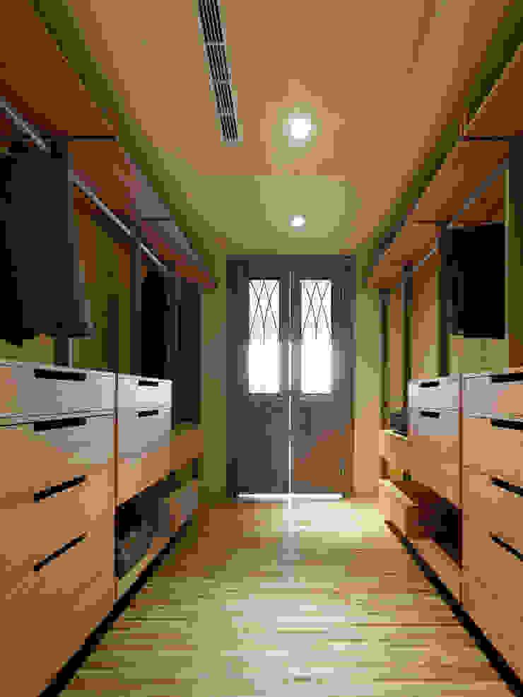 木耳生活藝術-室內設計/綠色的家 根據 木耳生活藝術 現代風 實木 Multicolored