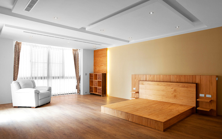Modern Bedroom by 木耳生活藝術 Modern Solid Wood Multicolored