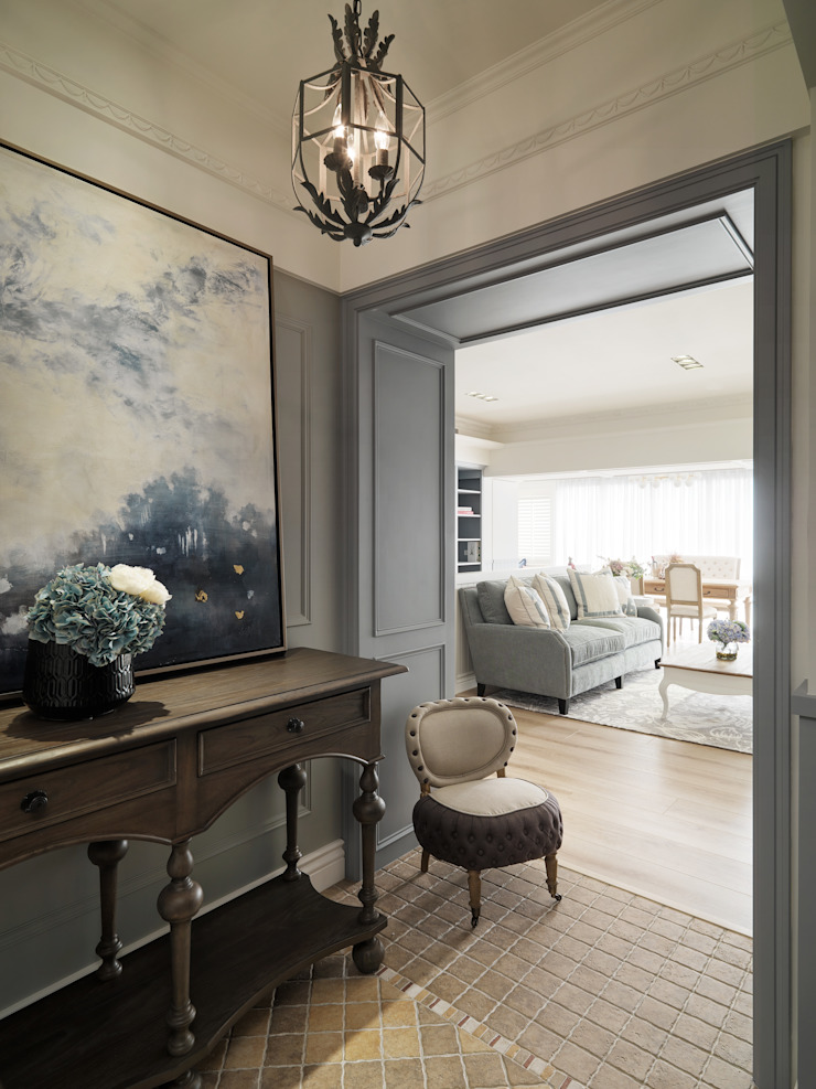 河岸宅中的美式經典 根據 陶璽空間設計