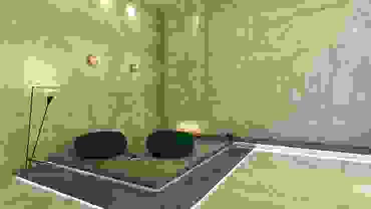 Raumdesign Naturstein - Launch Moderne Wohnzimmer von HEGEL DESIGN Modern Stein
