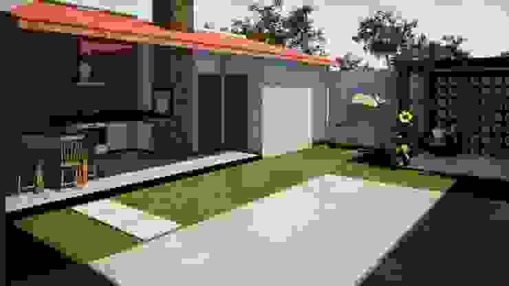SOBRADO ESPAÇOSO E MODERNO por Danilo Rodrigues Arquitetura Moderno