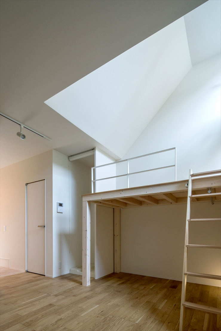 Mediterranean style bedroom by 向山建築設計事務所 Mediterranean