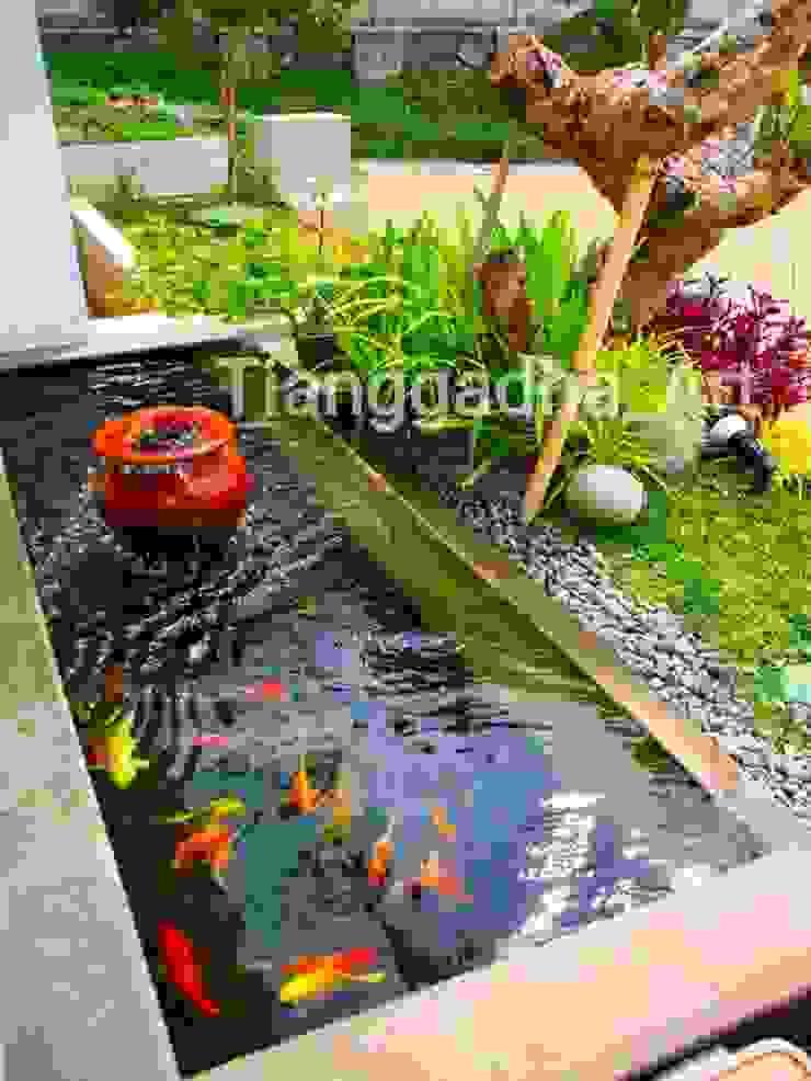 Tukang Kolam Ikan Koi Sidoarjo. Oleh Tukang Taman Surabaya - Tianggadha-art Minimalis Beton Bertulang