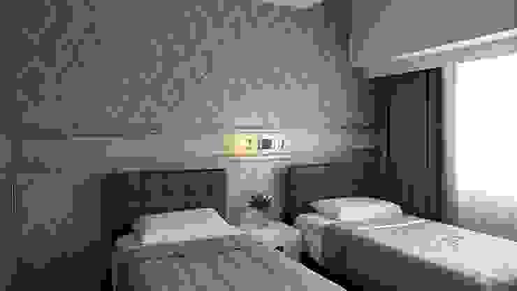 Mid Century Muse Geraldine Oliva Modern style bedroom