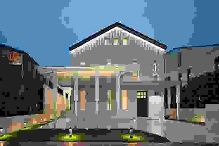 Sentosa house Minimalist houses by ADX Architects Pte Ltd Minimalist Aluminium/Zinc