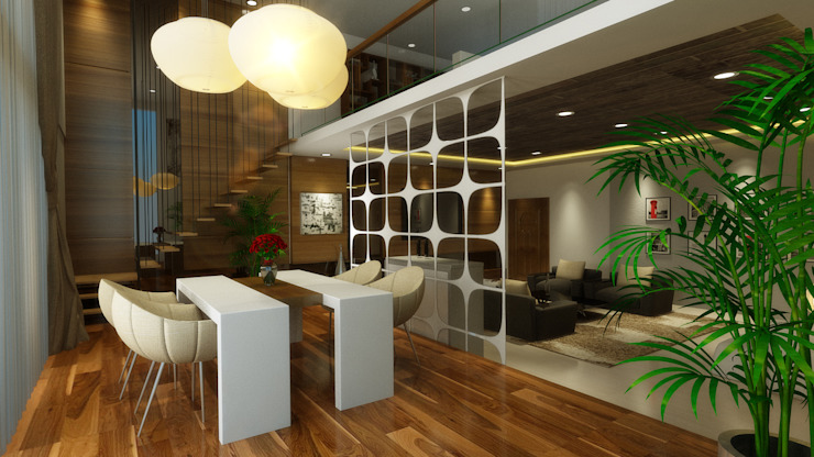 Dining Area Modern dining room by HC Designs Modern Plywood