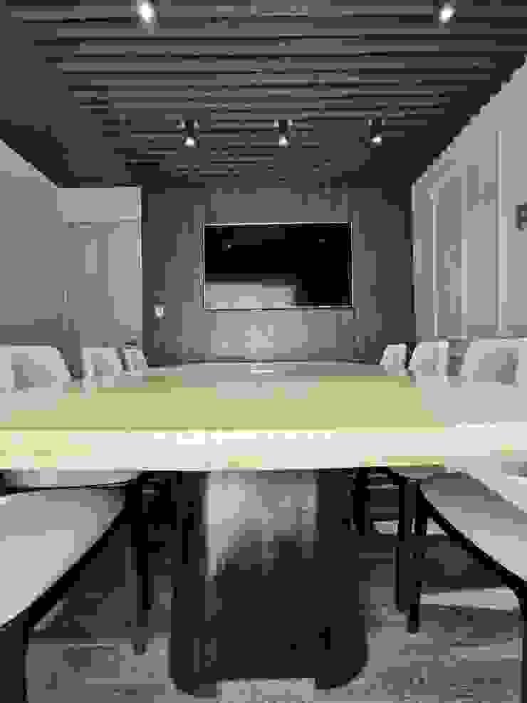 Oficinas constructora Proyarconst de Cardona Arquitectos Moderno