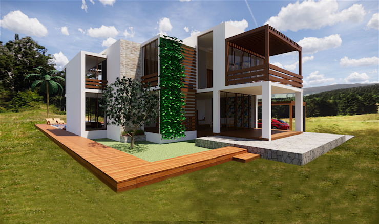 ROQA.7 ARQUITECTURA Y PAISAJE Country house