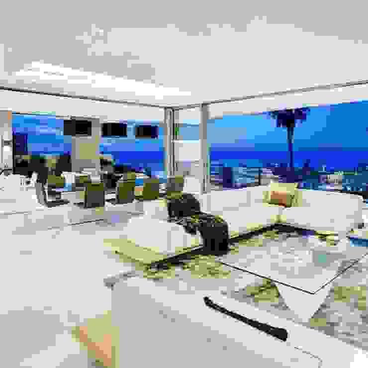 Cape town penthouse : modern  by MOSS Interiors, Modern