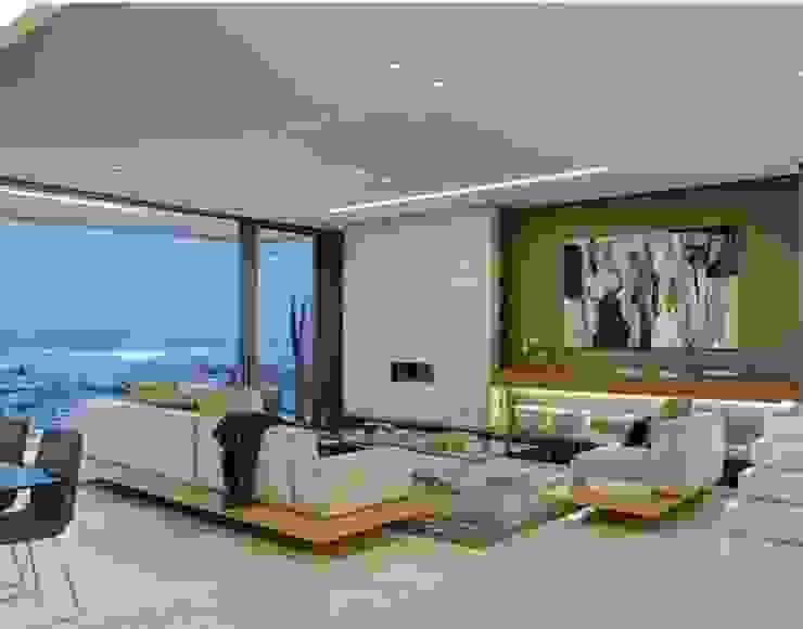 Penthouse apartment : modern  by MOSS Interiors, Modern