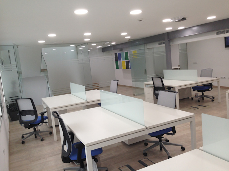 OCTANS AECO Modern Study Room and Home Office