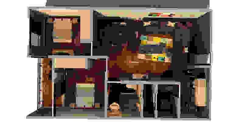PLANTA Comedores de estilo moderno de JAM architecture Moderno