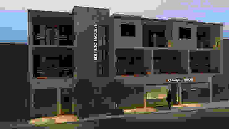FACHADA Casas modernas de JAM architecture Moderno