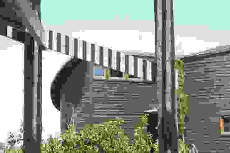 Casa Chauriye, Yunquen, Chile de MONAGHAN DESIGN SAS Rural Derivados de madera Transparente