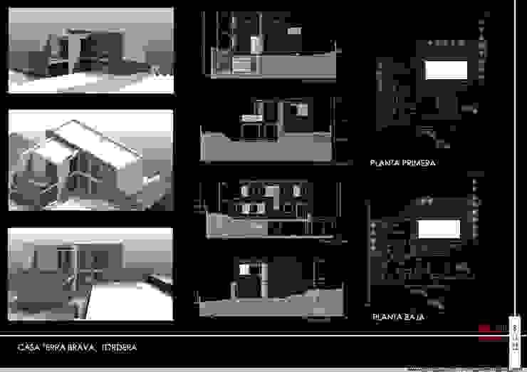 Casa Terra Brava, Tordera-España Casas modernas de MONAGHAN DESIGN SAS Moderno Concreto reforzado