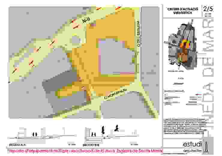 Concurso para rehabilitación y reactivación centro histórico. de MONAGHAN DESIGN SAS