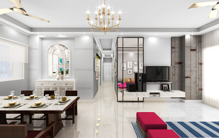 Luxury Dinning Area by Designers Gang