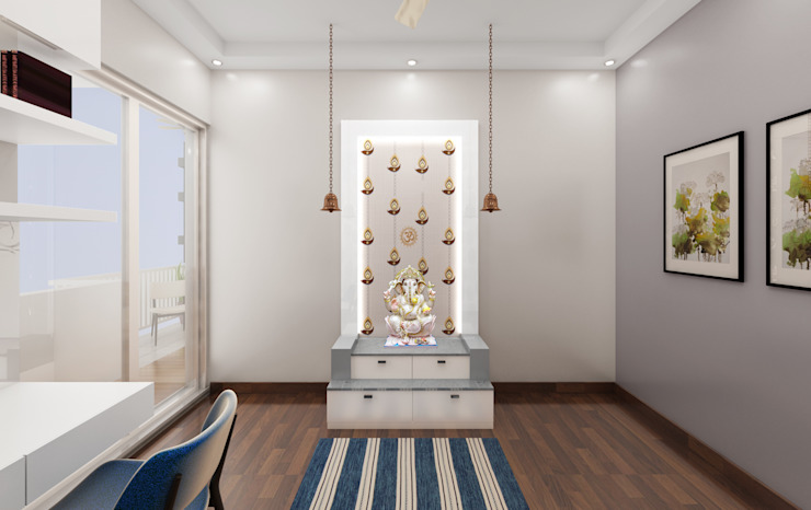 Home Temple Design by Designers Gang
