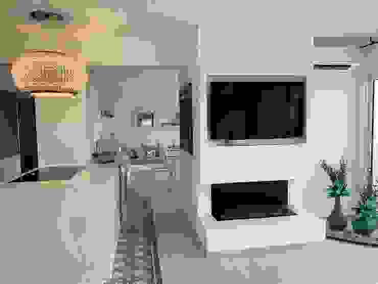 raum in form - Innenarchitektur & Architektur Salon moderne Blanc