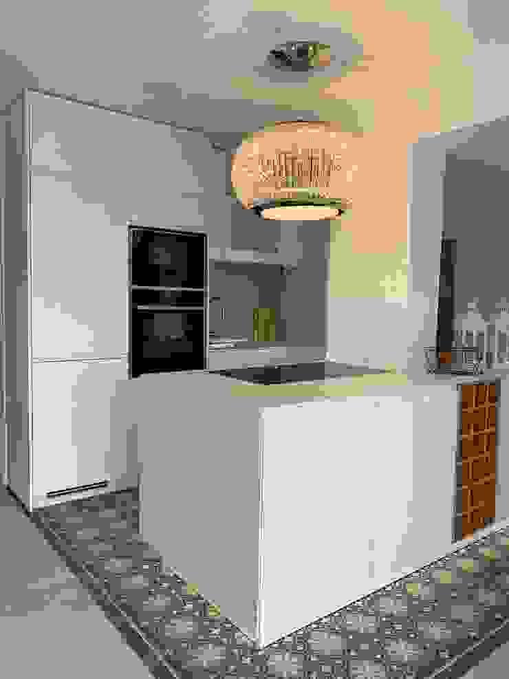 raum in form - Innenarchitektur & Architektur Cuisine moderne Blanc