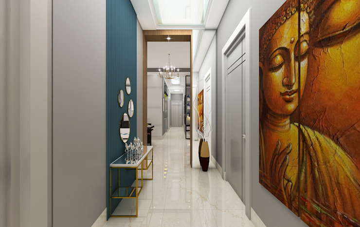 Foyer Area Design option by Designers Gang