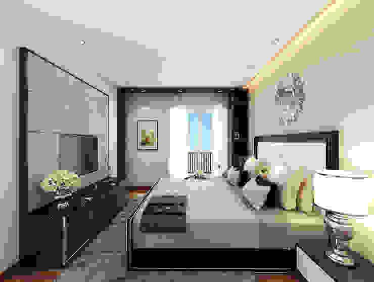Luxury Bedroom Design by Designers Gang