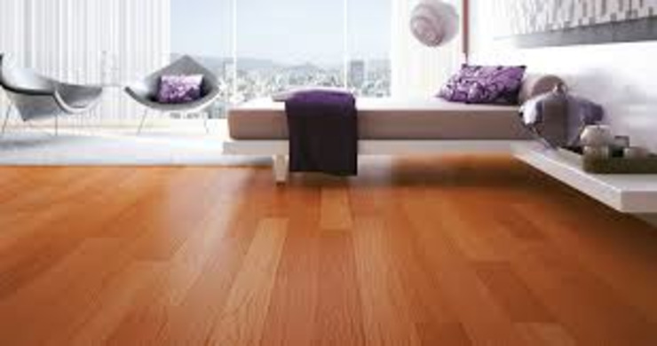 Raspagem de piso de madeira HaushaltAccessoires und Dekoration Holz Braun