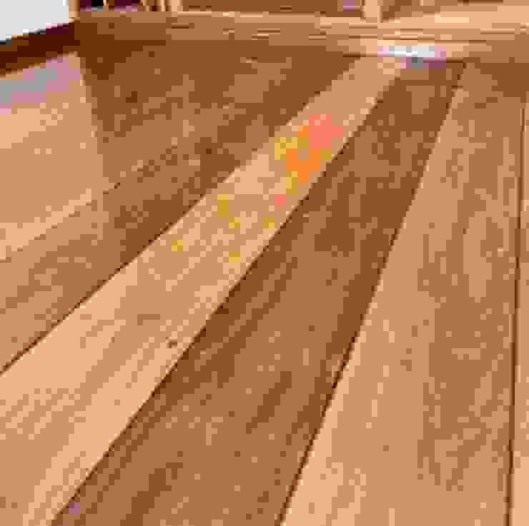 Raspagem de piso de madeira HaushaltHaushaltswaren Holz Braun