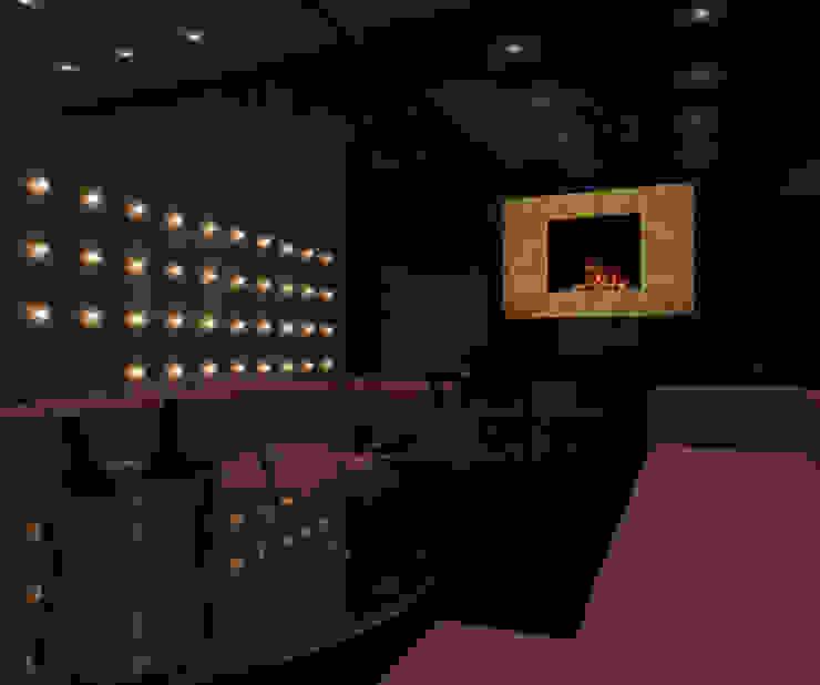Elektrisches Feuer Senses 3D mit individuellem Rahmen: modern  von RF Design GmbH,Modern