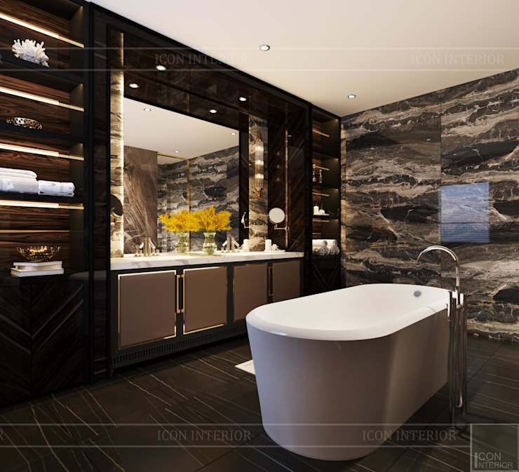 Modern Bathroom by ICON INTERIOR Modern