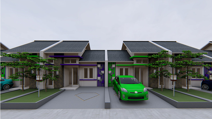 Permata Green Park Ruang Komersial Minimalis Oleh Fastetika Architecture Minimalis