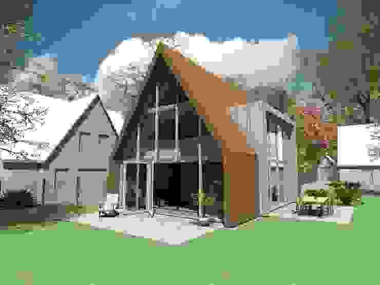 schuurwoning van Studio FLORIS Modern Hout Hout